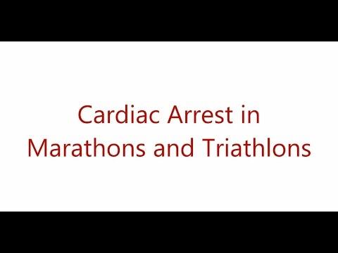 Cardiac arrest during marathons and triathlons