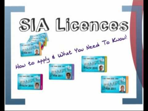 SIA Licence Training