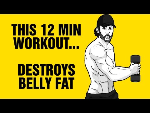 12min Belly Fat Destroyer Workout : Get 6 Pack Abs Fast