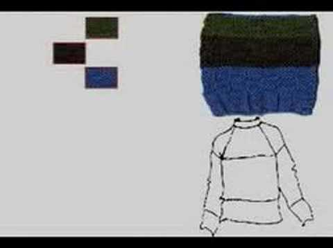 Creating a Photoshop Sketch from a Knit Swatch