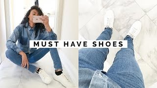 10 SHOES EVERY GIRL MUST HAVE!!   WARDROBE BASICS #2