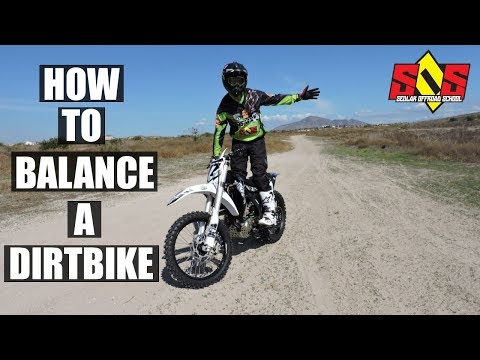 HOW TO BALANCE ON A DIRTKBIKE: 3 FUN DRILLS TO IMPROVE YOUR RIDING