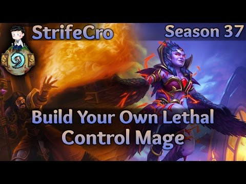 Hearthstone Control Mage: Build Your Own Lethal