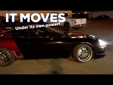 SUPRA MOVES UNDER ITS OWN POWER!