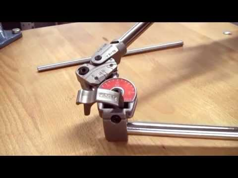 RIDGID - How To Bend Stainless Steel Pipe