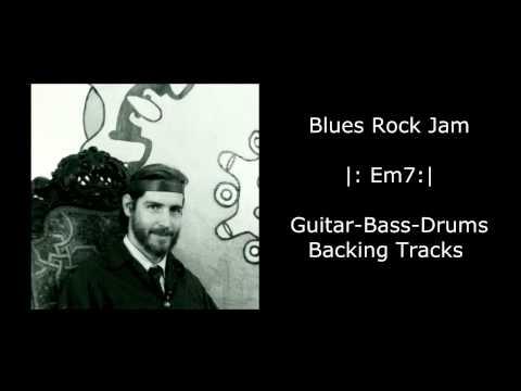Electric Backing Tracks #13 Em Jam Guitar, Bass, & Drums
