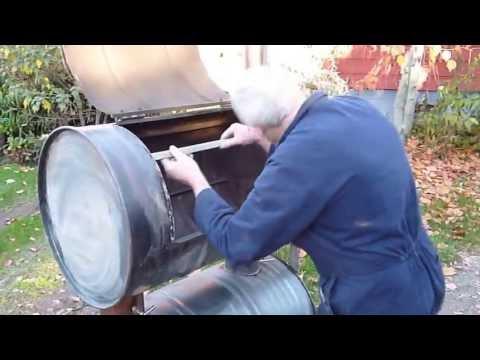 Double Barrel Smoker - New Zealand DIY