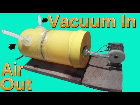 How to make Vacuum Pump | Air Pump  Easy way
