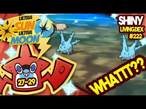 3 SHINIES WHATTT? SHINY CALLS IN SHINY CORSOLA! Quest For Shiny Living Dex #222 | USUM #027