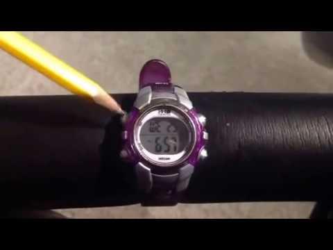 Setting Timex 1440 Sports Watch