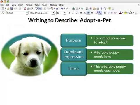 Descriptive Essay Writing: Structure and Techniques