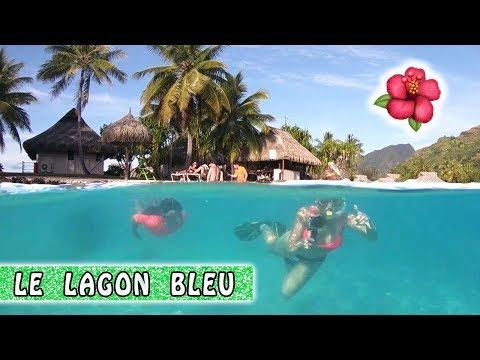 SURPRISE DANS LE LAGON / Family vlog à Moorea / Vlog à Tahiti