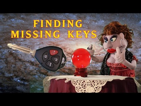 How to Find Lost Keys: Madame Fortunata Psychic Puppet