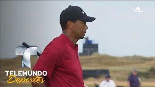 Tiger Woods se acerca al liderato | Telemundo Deportes | Telemundo Deportes