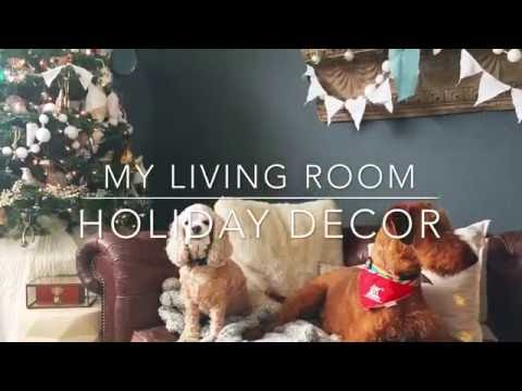 Tour of my Christmas Living room! Tips and ideas!