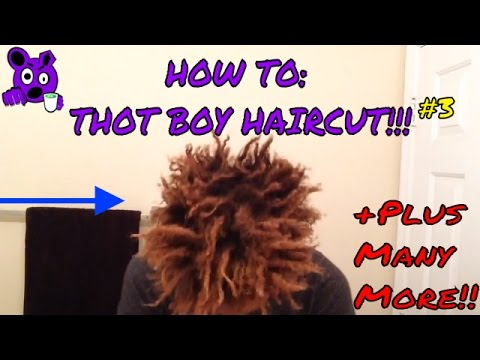 HOW TO: Freeform Dread/ Thot Boy Haircut/ Wash/ Tie/ Braid/ and Sponge Your Hair !! (TUTORIAL!!!) #3