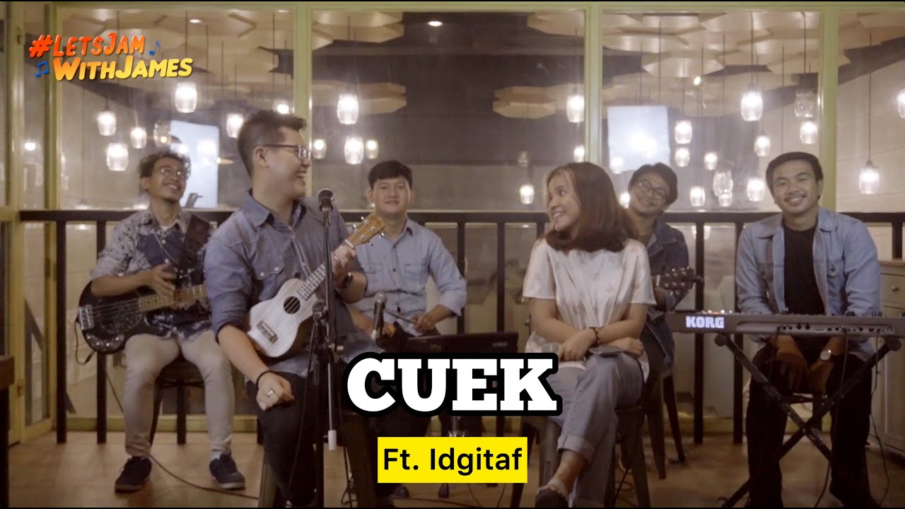 Download Cuek (Rizky Febian) KERONCONG - IDGITAF (Brigita Meliala) ft. Fivein #LetsJamWithJames MP3 Gratis