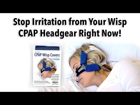 CPAP Wisp Strap Covers by RespLabs Medical » The World Leader in CPAP Comfort