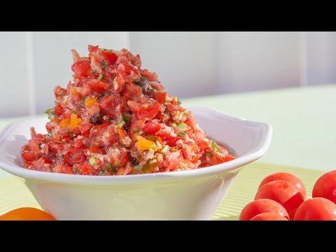 Cherry Tomato Salsa Recipe