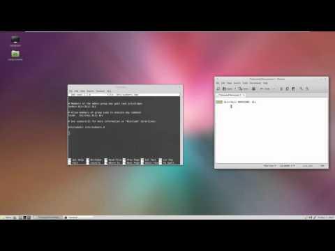Remove Password Prompts Linux Mint