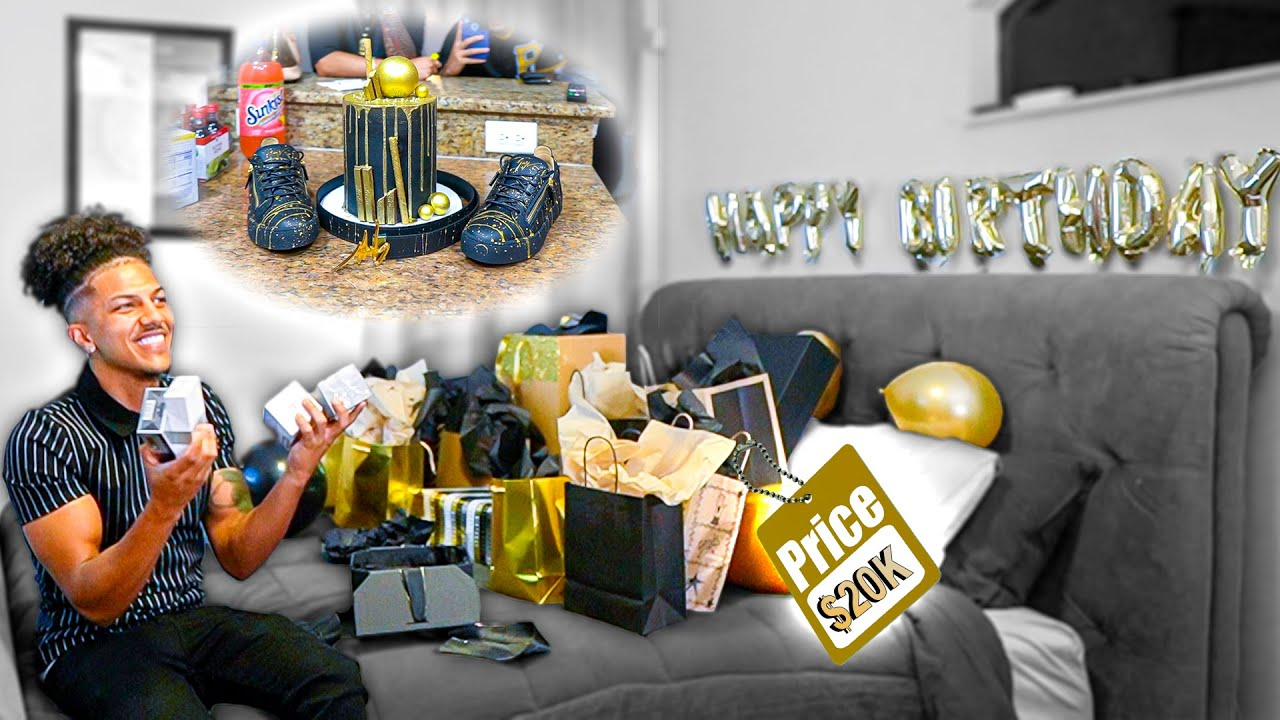 Milo's EPIC 23rd Birthday Surprise! *$20K In GIFTS!*
