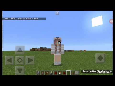 HOW TO MAKE A SIMPLEZOO MINECRAFT PE