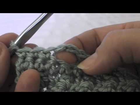 Crocheting a Button Hole