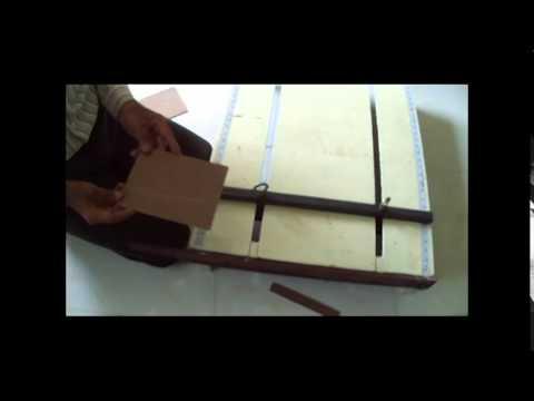 Hardboard cutting machine