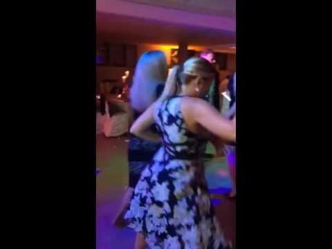 Kirstie, And Kristin Salsa Dancing