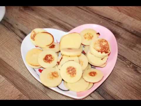 Plaque à mini blinis ou pancakes