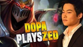 DOPA ZED vs SSG CROWN VIKTOR - Dopa SoloQ Playing Zed Midlane In Challenger Korea | Be Challenger