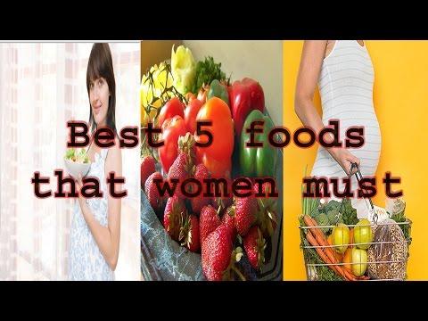 Best 5 foods that women must eat in pregnancy