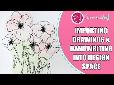 Importing Drawings & Handwriting into Cricut Design Space