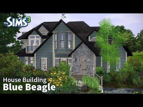 Blue Beagle | The Sims 3 House Building