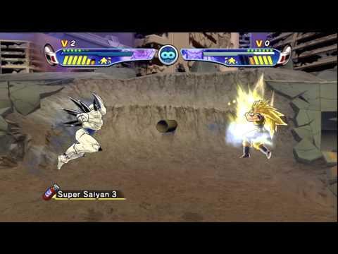 Goku vs Omega Shenron [Budokai 3 HD]