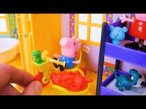 Xxx Mp4 बच्चों और शिशुओं के लिए Peppa सुअर खिलौना सीखना वीडियो 3gp Sex
