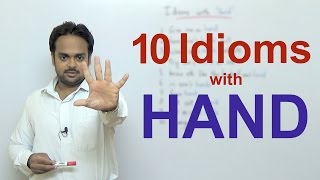 10 Idioms with
