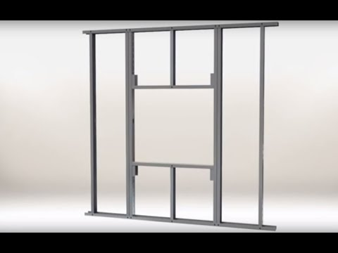 Metal Stud Framing For Combination Fire Smoke Dampers