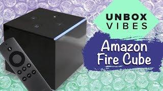 Amazon Fire TV Cube unboxing