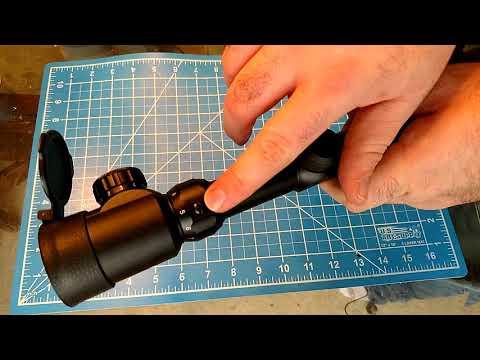 OTW 3-9x56 illuminated scope.  The best budget rifle scope yet!