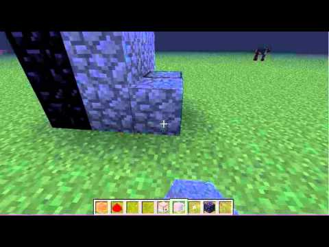 Minecraft-How to light a nether portal with redstone