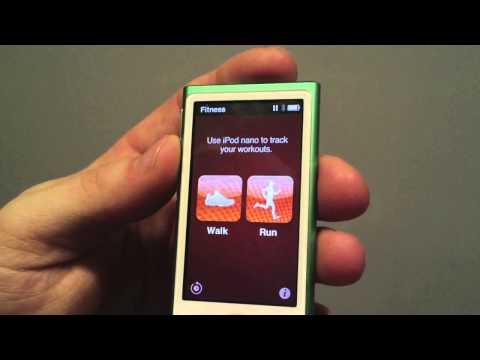 Review NEW iPod Nano 7th Gen (green)