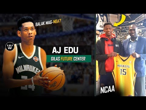AJ Edu to NBA? | Kamusta na si AJ Edu Ngayong 2018? | Kai Sotto's Partner
