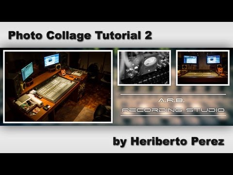 Photo Collage Tutorial in Photoshop CS6