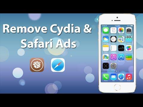 Remove Cydia and Safari Ads 2014 (Updated) - Cydia 1.1.9 iOS 7 Compatible - iPhone, iPod, & iPad