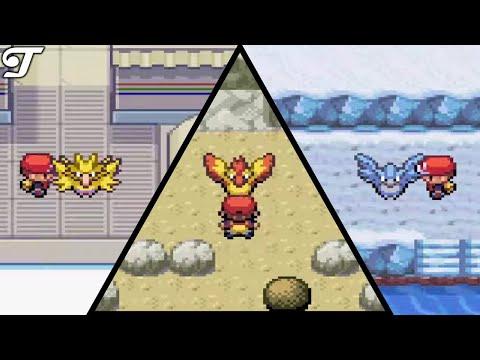 Pokémon Fire Red & Leaf Green - How To Catch Articuno, Moltres & Zaptos