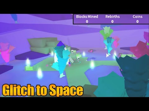 How To Get To SPACE Without 500,000 Blocks Mined | Mining Simulator