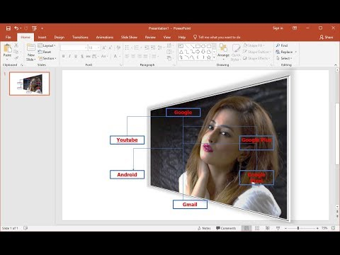 MS PowerPoint : How to Group Ungroup & Set Background Picture
