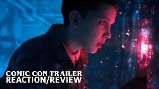 STRANGER THINGS Season 2 Comic Con Trailer REACTION/REVIEW