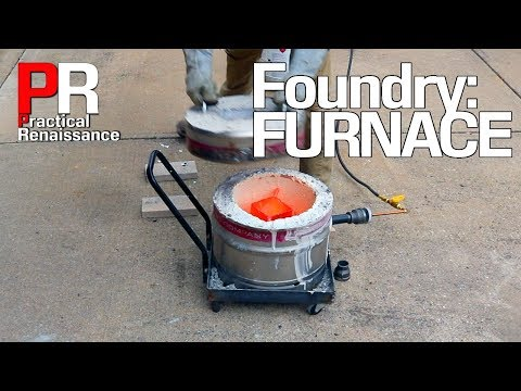The Beer Keg Foundry: Filling & Firing the Furnace!